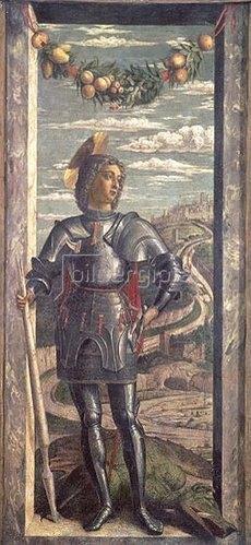 Andrea Mantegna: Der Heilige Georg. 1466-67