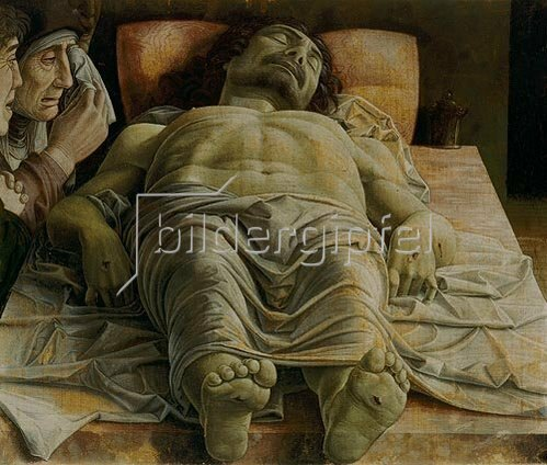 Andrea Mantegna: Der tote Christus. Um 1480