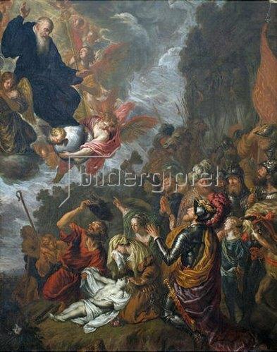 Joachim von Sandrart: Wunder des hl. Benedikt.