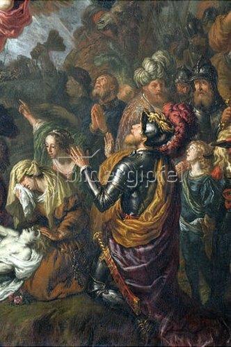 Joachim von Sandrart: Wunder des hl. Benedikt. (Detail)
