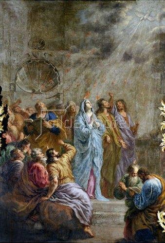 Joachim von Sandrart: Herabkunft des Heiligen Geistes.