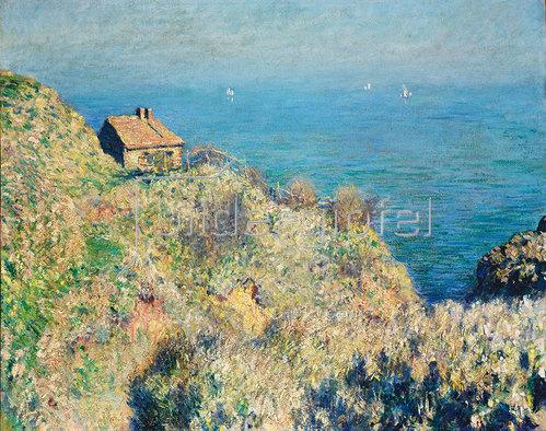 Claude Monet: Das Haus des Douaniers in Varengeville.