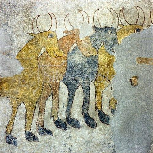 Herde des hl. Prokulus. Um 770