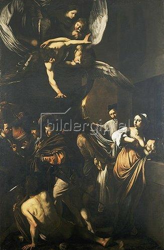 Caravaggio: Die sieben Werke der Barmherzigkeit. 1607