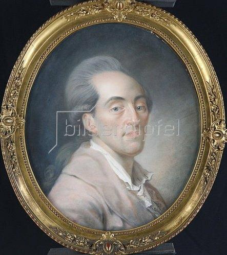Unbekannter Künstler: Jakob Stock. Um 1770