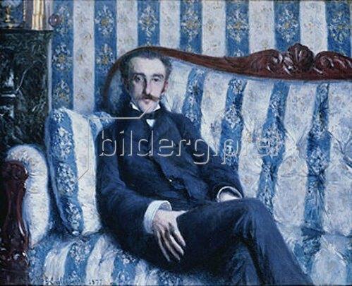 Gustave Caillebotte: Portrait de Monsieur R. 1877