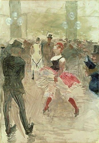 Henri de Toulouse-Lautrec: Im 'Elysée Montmarte'. 1888