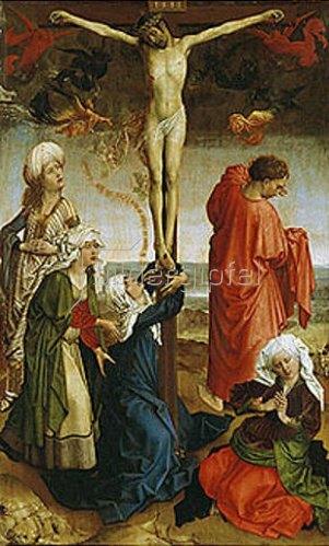 Rogier van der Weyden: Christus am Kreuz.