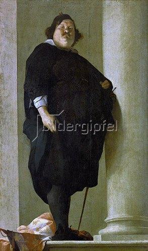 Charles Mellin: Bildnis des toskanischen Generals Alessandro del Borro. Um 1645