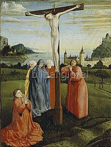 Konrad Witz: Christus am Kreuz. Um 1445/50