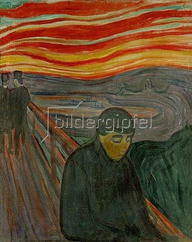 Edvard Munch: Verzweiflung. 1893