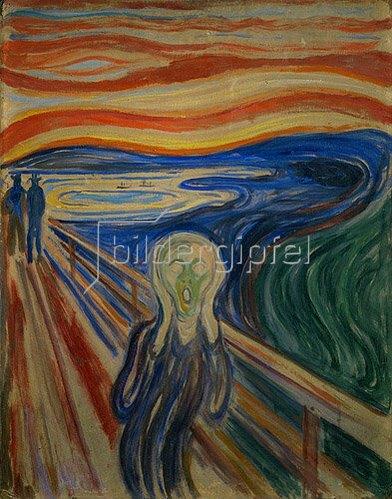 Edvard Munch: Der Schrei. 1893
