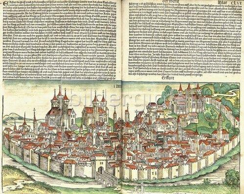 Hartmann Schedel: Aus: Die Schedelsche Weltchronik (Liber Chronicarum). 1493