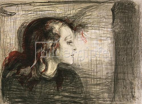 Edvard Munch: Das kranke Kind I. 1896