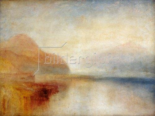 Joseph Mallord William Turner: Monte Rosa. Um 1835/40