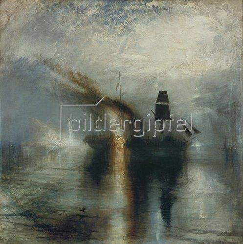 Joseph Mallord William Turner: Frieden. Beisetzung auf See. 1841/1842.