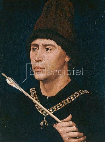 Rogier van der Weyden: Der Großbastard Anton von Burgund. Um 1456