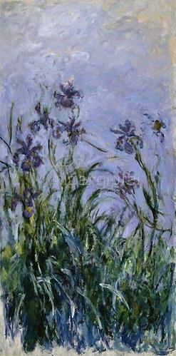Claude Monet: Iris. 1914-17