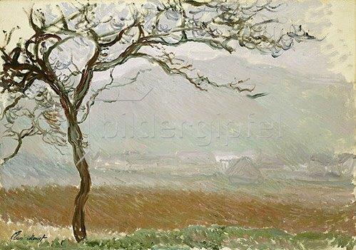 Claude Monet: Landschaft bei Giverny.