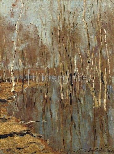 Isaak Iljitsch Lewitan: Hochwasser (undatiert).