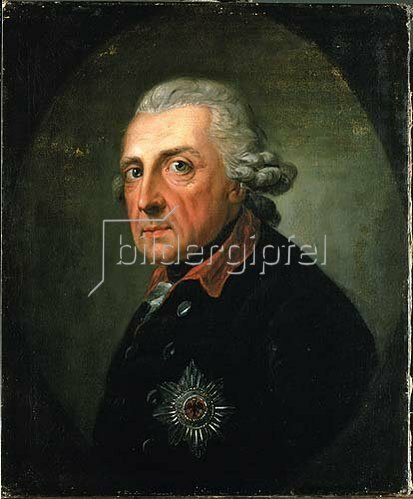 Anton Graff: Friedrich II. (der Große), König von Preußen. 1781