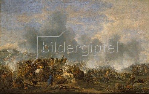 Philips Wouwerman: Die Schlacht bei Nördlingen.