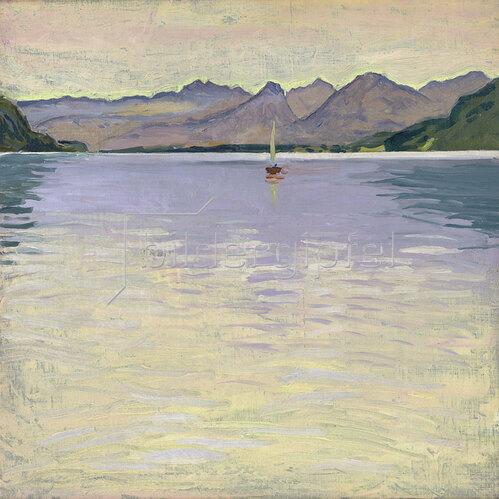 Koloman Moser: Wolfgangsee. 1913