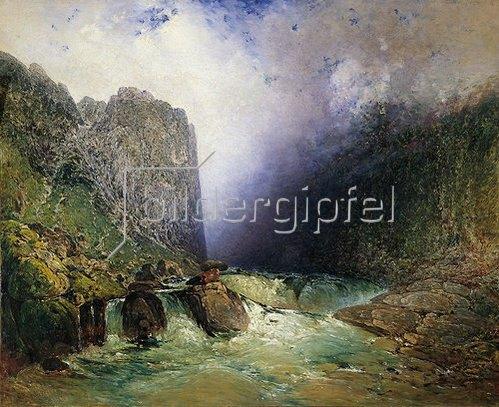 Adalbert Stifter: Die Teufelsmauer bei Hohenfurth. 1845