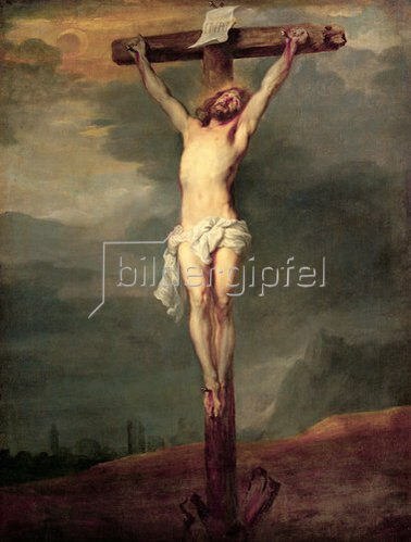Anthonis van Dyck: Christus am Kreuz. 1628/30