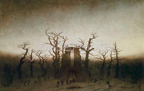 Caspar David Friedrich: Die Abtei im Eichwald. 1809/10
