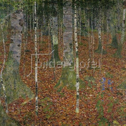 Gustav Klimt: Birkenwald. 1903