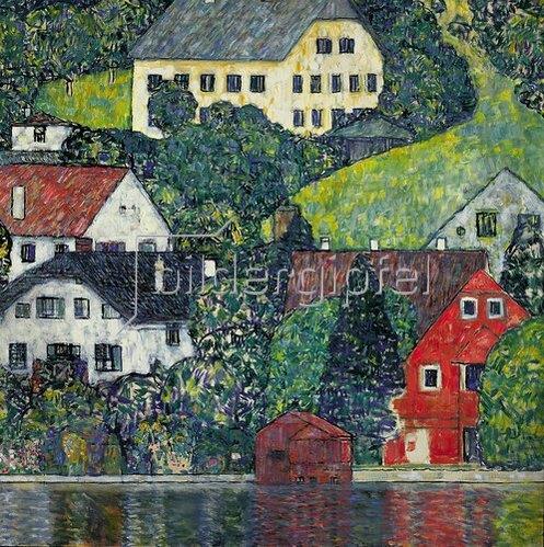 Gustav Klimt: Unterach am Attersee. Um 1916