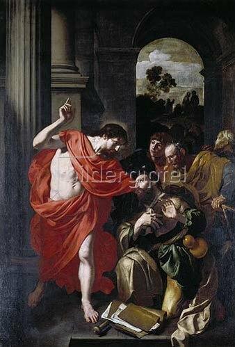 Gerard Douffet: Christus erscheint dem Jakobus.