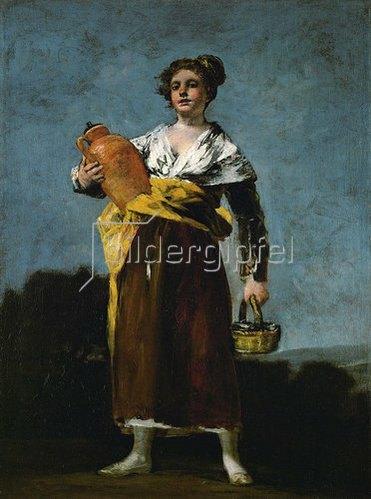 Francisco José de Goya: Die Wasserträgerin. Um 1808-12