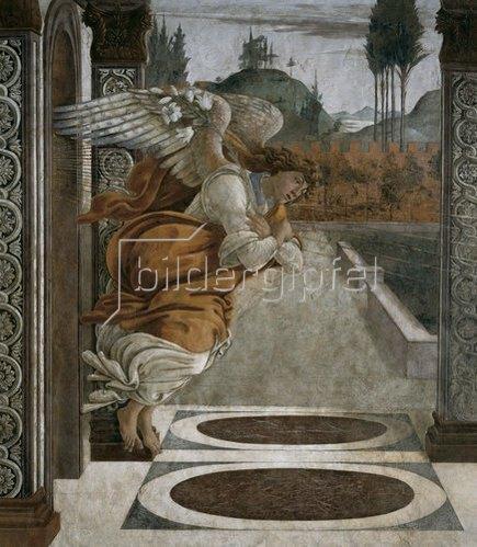 Sandro Botticelli: Verkündigungsengel