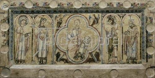 Unbekannter Künstler: Antependium aus der ehemaligen Walpurgiskirche in Soest. Um 1170
