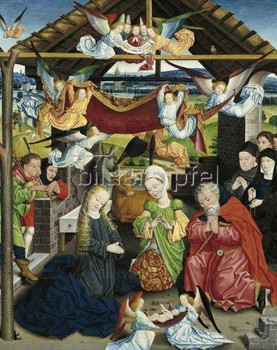 Derick Baegert: Anbetung des Kindes. 1480