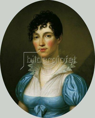Johann Christoph Rincklake: Charlotte Forkenbeck, Bildnis, um 1810/12