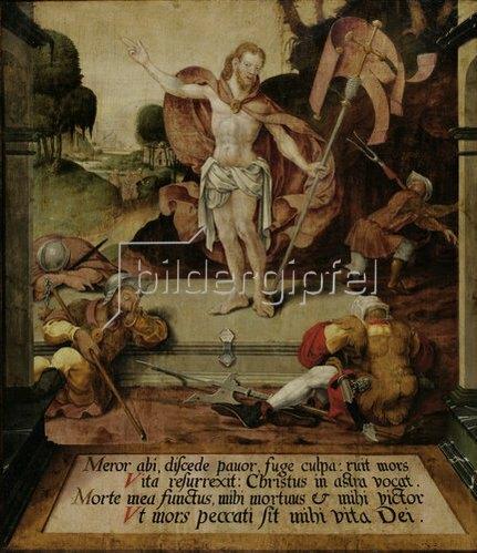 Hermann tom Ring: Auferstehung Christi. Um 1550