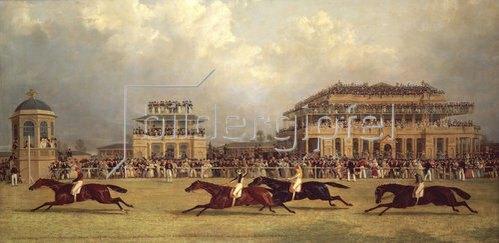 John Frederick Herring d.Ä.: Der Doncaster Gold Cup im Jahre 1838.