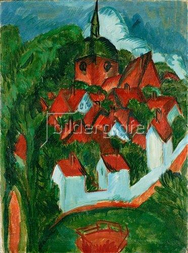 Ernst Ludwig Kirchner: Burg auf Fehmarn. 1912