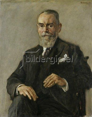 Max Liebermann: Bildnis August Batschari. 1918