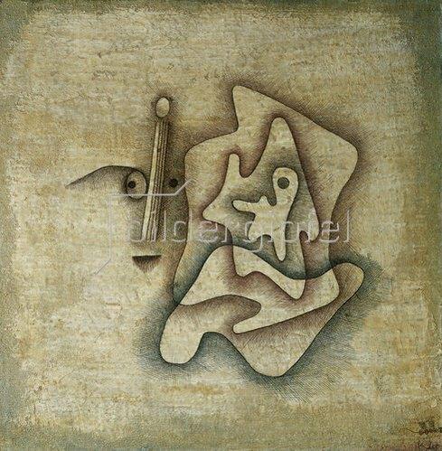 Paul Klee: Der Hörende. 1930