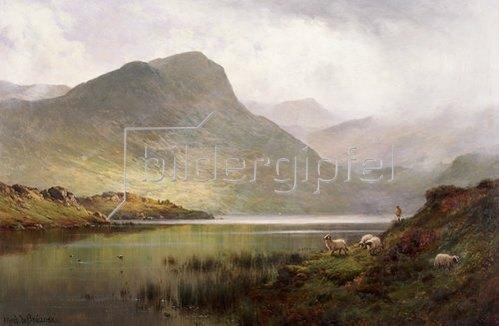 Alfred de Bréanski: Loch Ness.