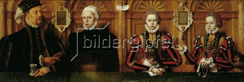 Hermann tom Ring: Familienbild des Grafen Johann II. von Rietberg. 1564