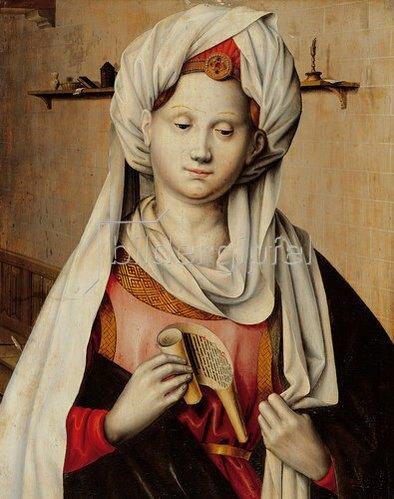 Ludger tom d.Ä Ring: Die Cumäische Sibylle. Um 1538