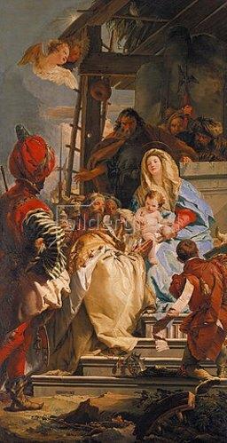 Giovanni Battista Tiepolo: Die Anbetung der Könige. 1753