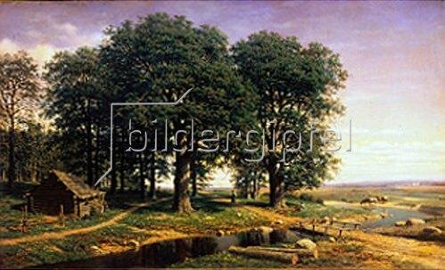 Michael Konstantinow Clodt: Eichenwald. 1863.