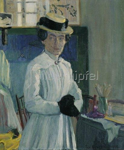 Ida Gerhardi: Selbstbildnis. 1904
