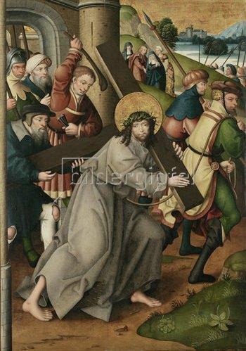 Jan Baegert: Altar aus der Kirchspielkirche in Liesborn. Kreuztragung Christi. 1517/1522